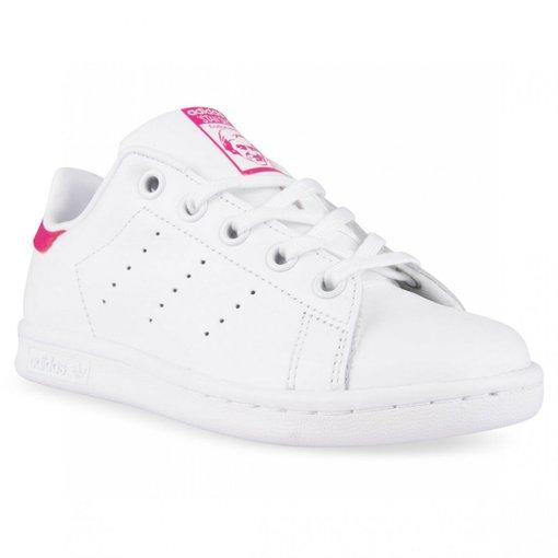 Giày trắng hồng D5